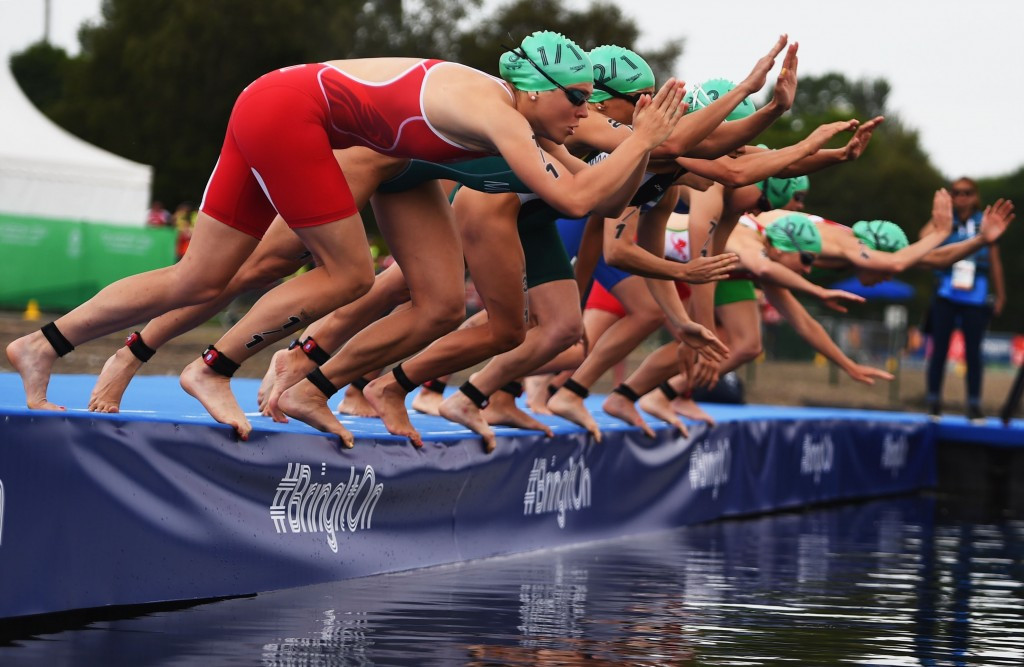 Triathlon will be one of six sports contested in Glasgow, while Berlin will stage athletics ©Getty Images
