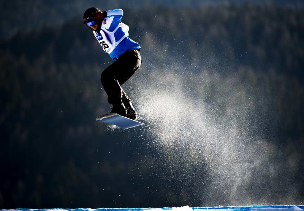 Haemmerle and Brockhoff on top at FIS Snowboard Cross World Cup