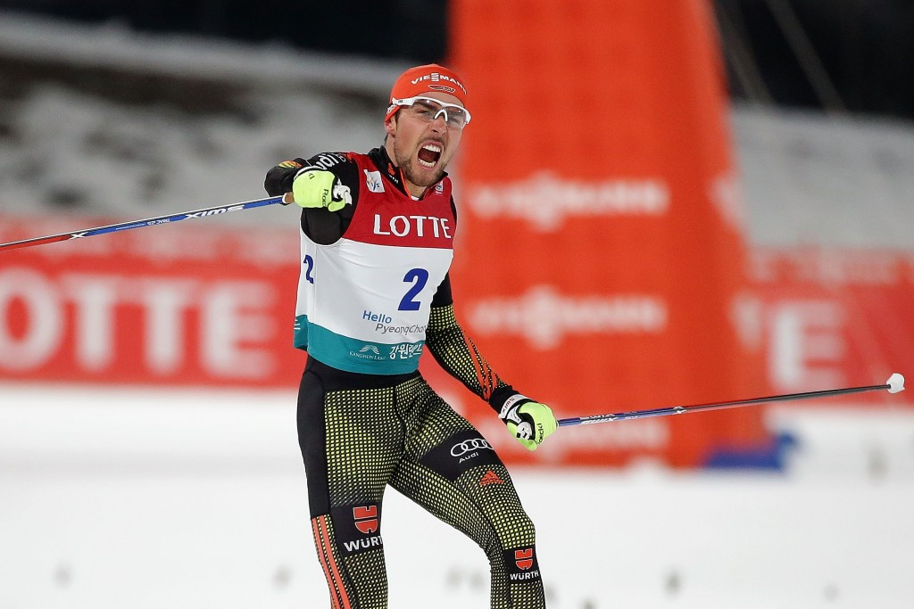 Rydzek tops World Cup table with Pyeongchang 2018 test event win
