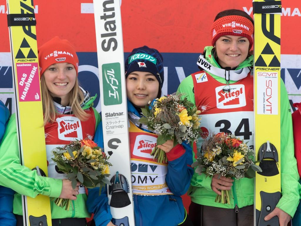 Takanashi secures second consecutive FIS Ski Jumping World Cup win