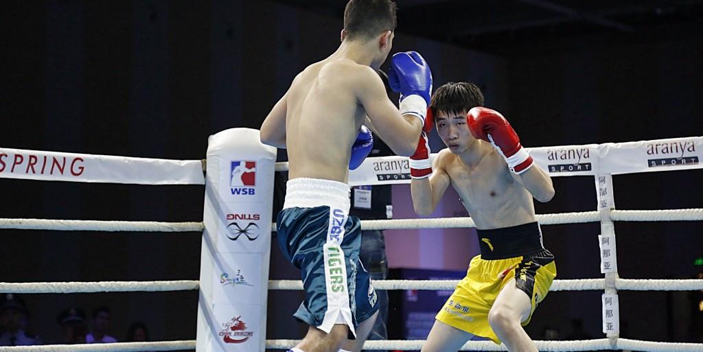 China Dragons fight back to win WSB match