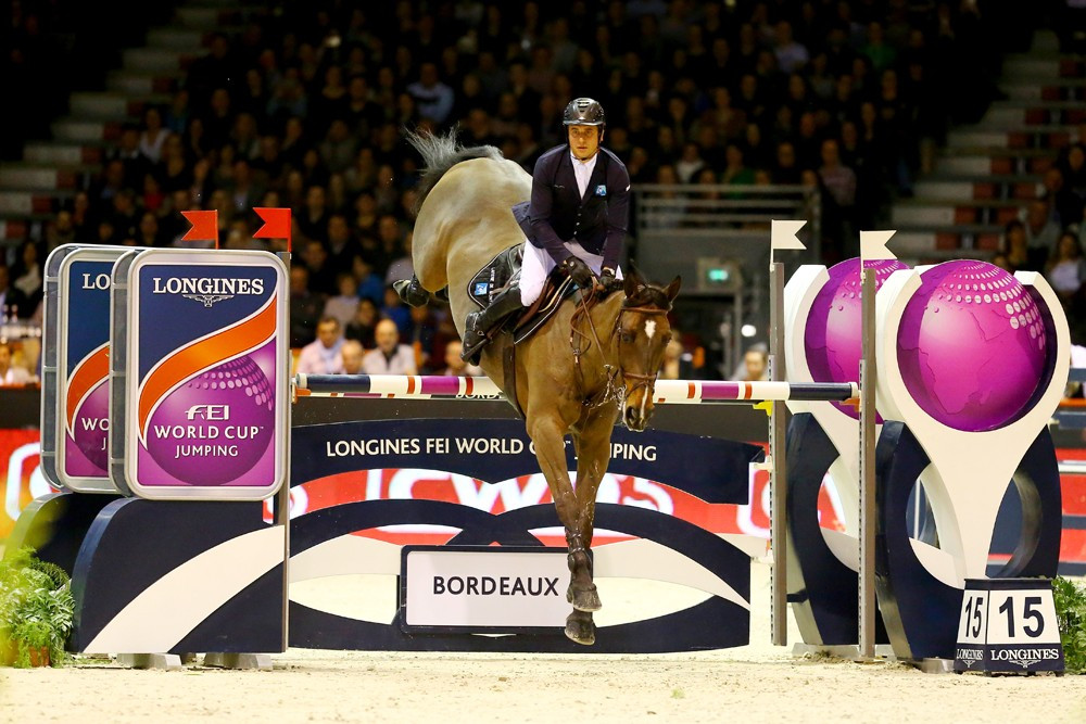 Epaillard rides to home FEI World Cup Jumping victory