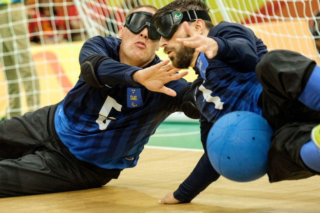 IBSA is the governing body for blind sports such as goalball ©Getty Images