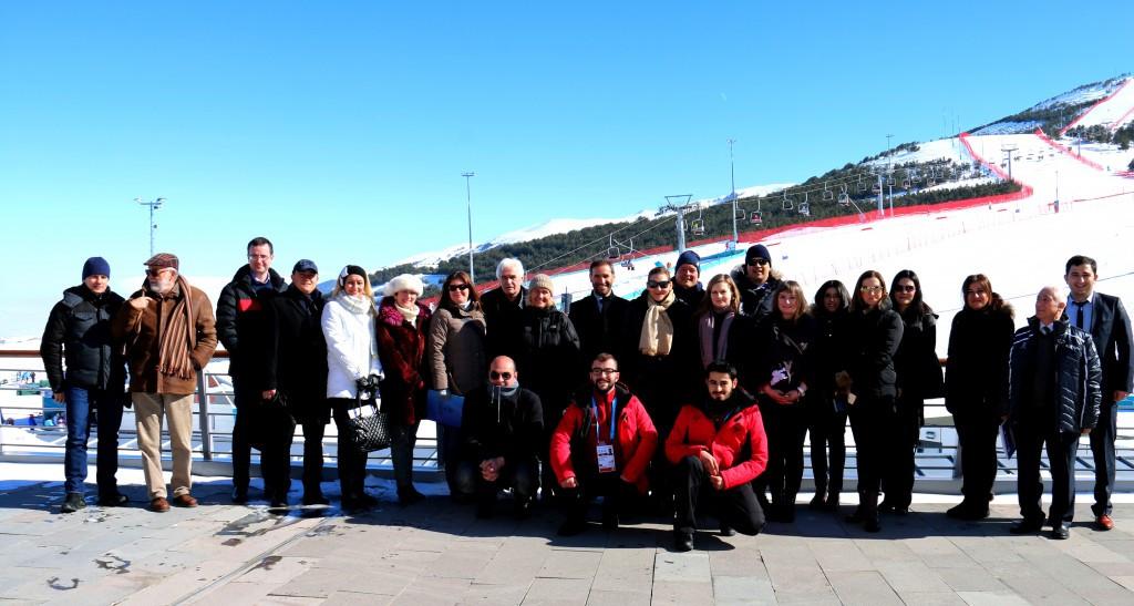 Facilities in Erzurum have received widespread praise ©Erzurum 2017