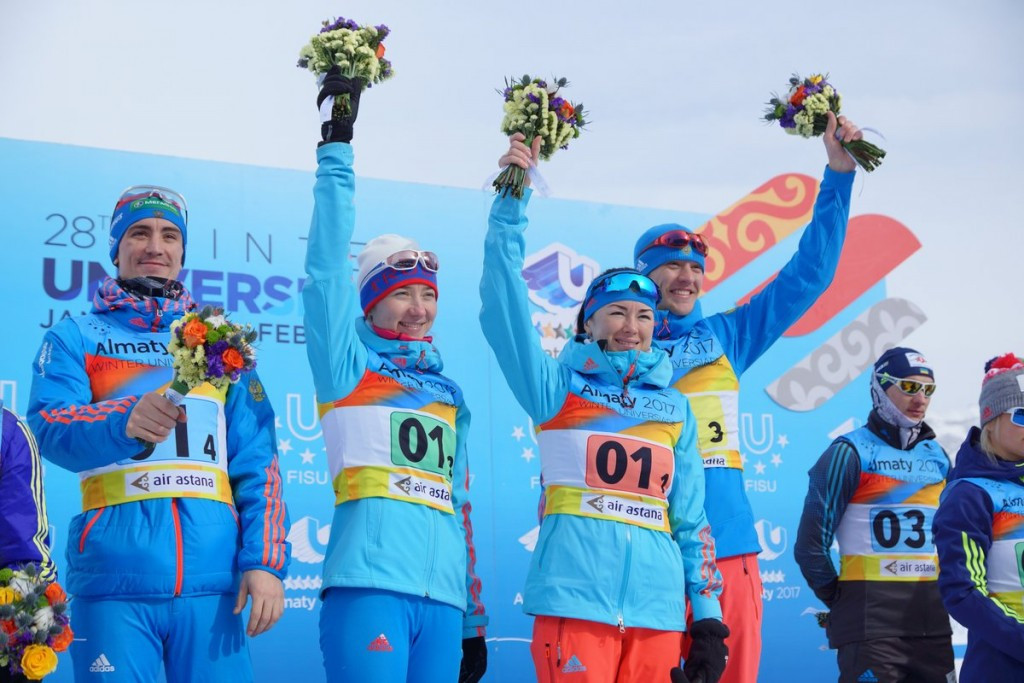 Russia secure mixed team biathlon gold at 2017 Winter Universiade