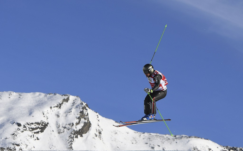 Chapuis gets Ski Cross World Cup win after weather problems