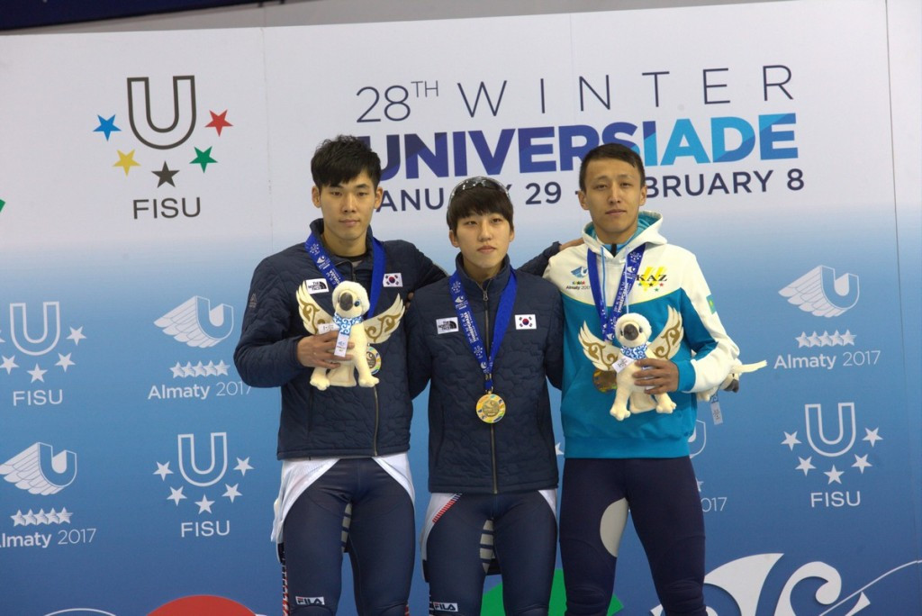 In pictures: South Korea claim double short track gold on day eight of 2017 Winter Universiade