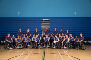 Great Britain's squad for the European Wheelchair Rugby Championships has been unveiled ©GBWR