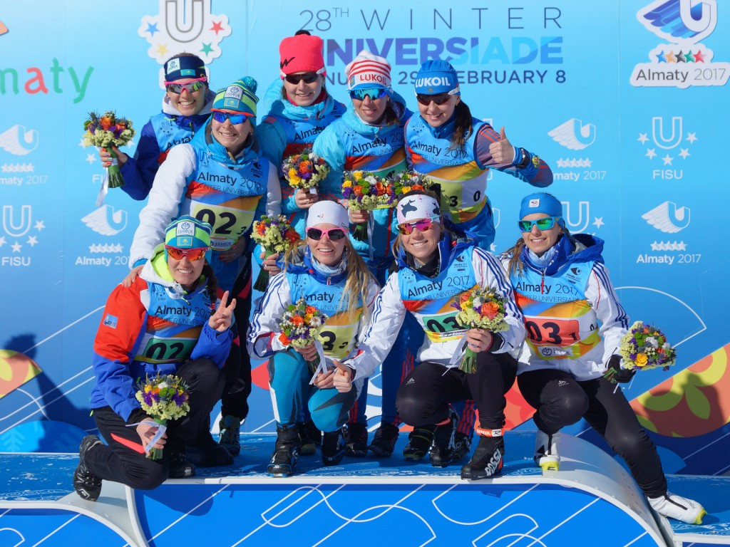 Russia unbeatable in cross-country skiing relays at 2017 Winter Universiade