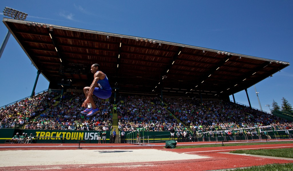 The 2021 IAAF World Championships were awarded to Hayward Field in Eugene without a formal bidding process ©Getty Images