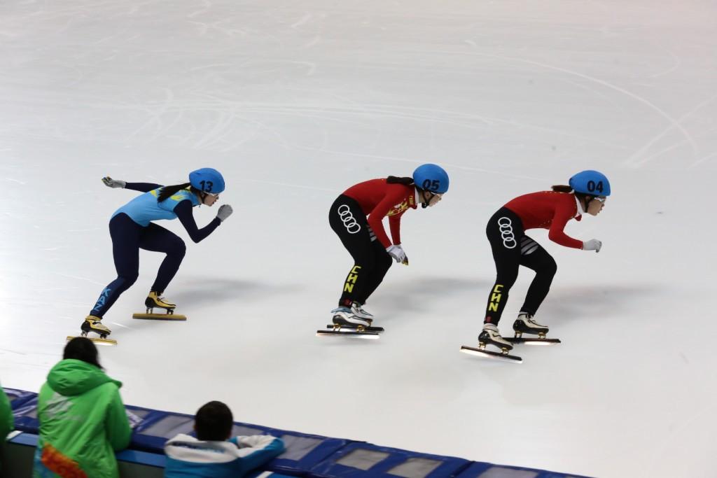 China's Yize Zang won the women's 500m crown ©Almaty 2017