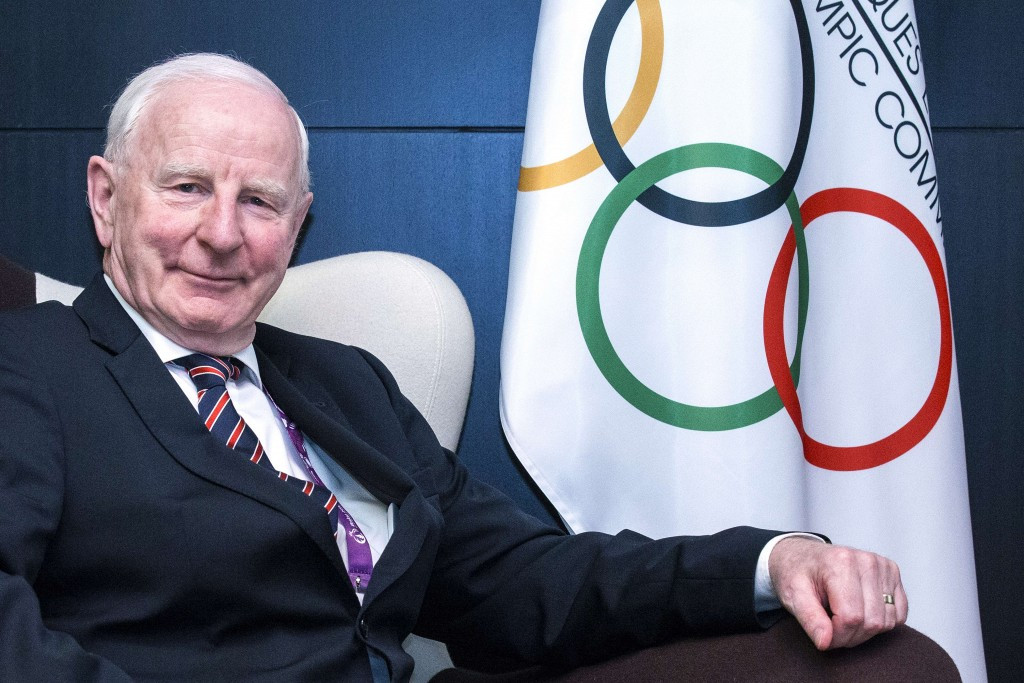Patrick Hickey could still theoretically return to international sporting positions such as his Presidency of the European Olympic Committees ©Getty Images