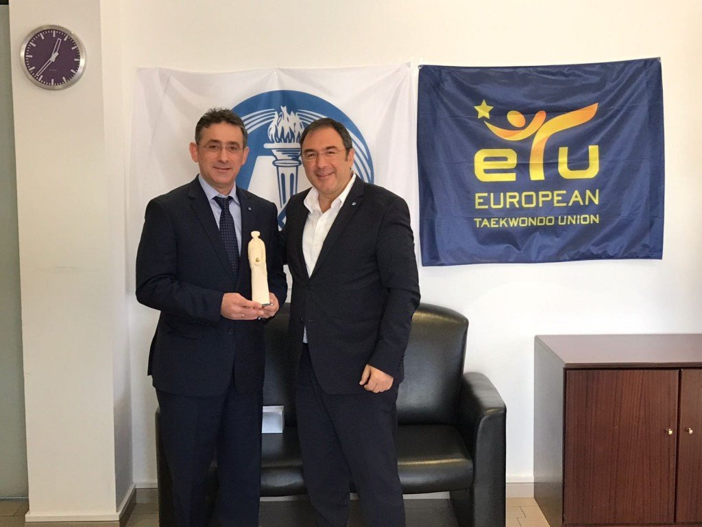 The European Taekwondo Union signed a key deal in Cyprus  ©ETU