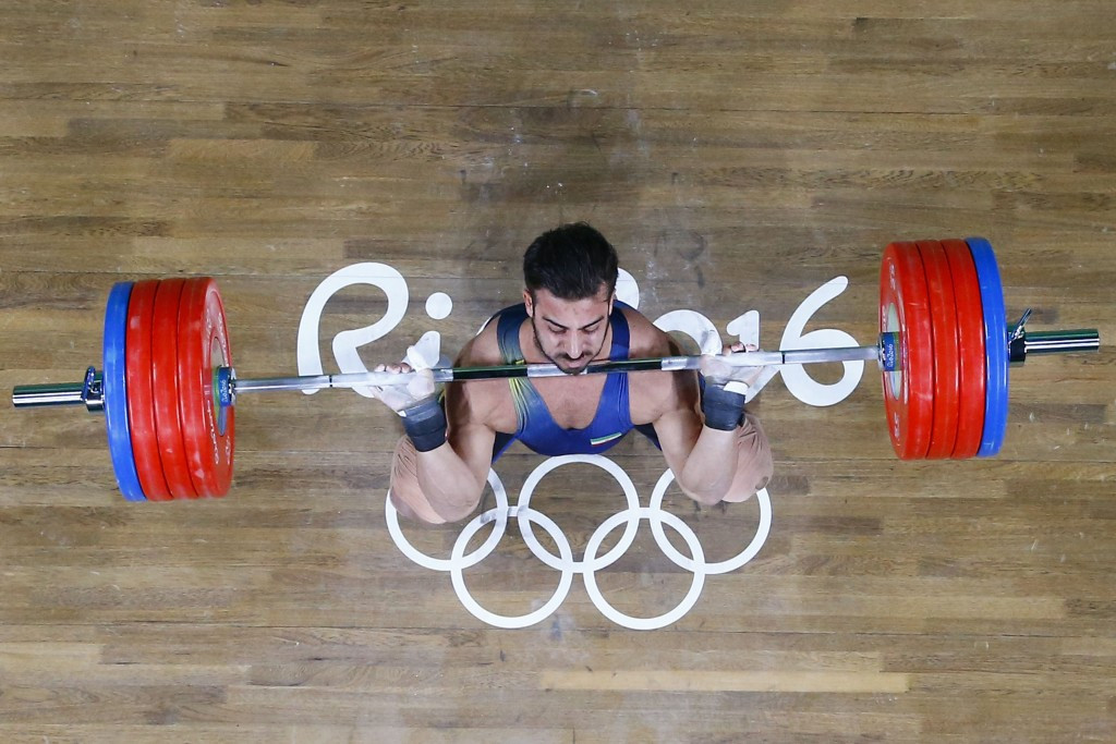 Rio 2016 champions collect weightlifting awards
