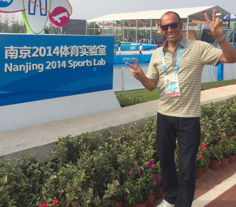 Fernando Aguerre, pictured at last year's Summer Youth Olympic Games in Nanjing, sees acceptance at Lima 2019 as another boost for the sport on the road to eventual Olympic inclusion ©ISA