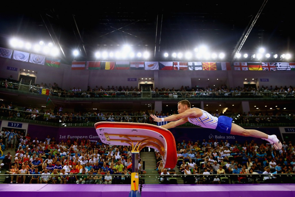 Baku is set to host the men's Artistic Gymnastics European Championships in 2020 ©Getty Images