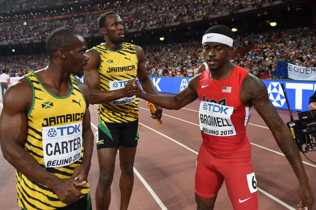 Carter set to compete for first time since losing Olympic gold medal