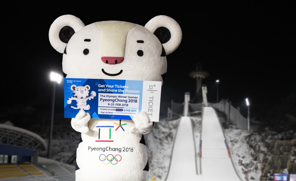 Pyeongchang 2018 tickets set to go on sale