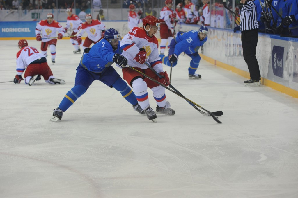 Russia had the edge in an extremely tight contest with Kazakhstan ©Almaty 2017