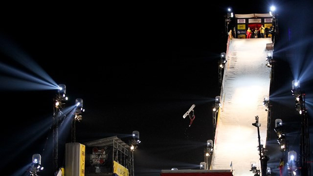 Anna Gasser could secure the overall big air title this weekend ©FIS