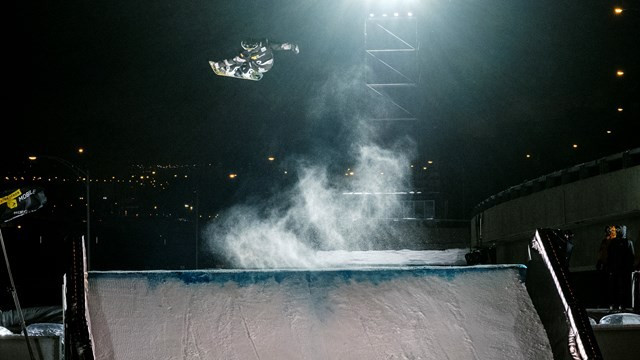 The event in Quebec City features big air and slopestyle action ©Renaud Philippe/FIS