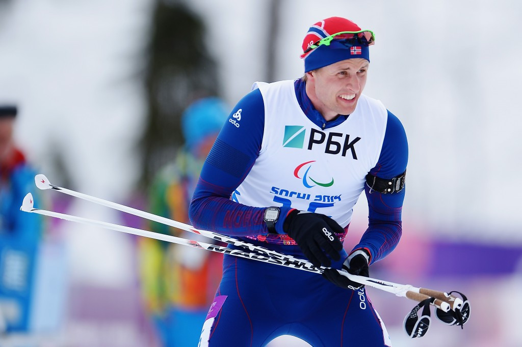 Nils-Erik Ulset heads into the World Para Nordic Skiing Championships in second place in the IPC Biathlon World Cup standings ©Getty Images