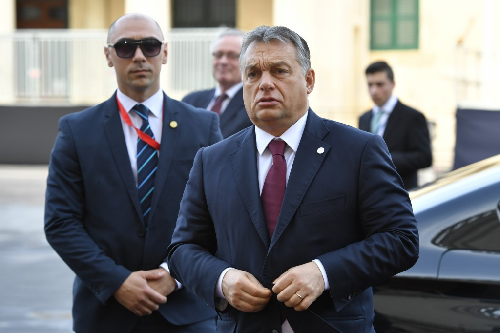 Hungarian Prime Minister Viktor Orbán refused to comment on the referendum initiative last week ©Getty Images