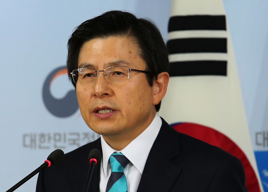 South Korea's Acting President vows to deliver successful Winter Olympics