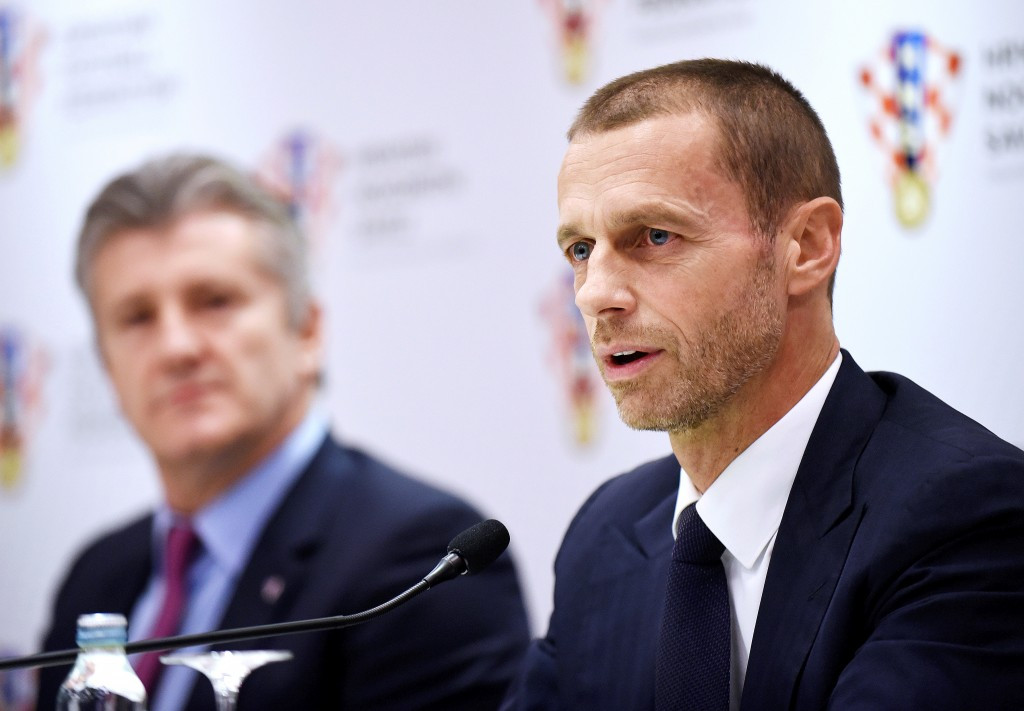 UEFA President Aleksander Čeferin led the reform process ©Getty Images