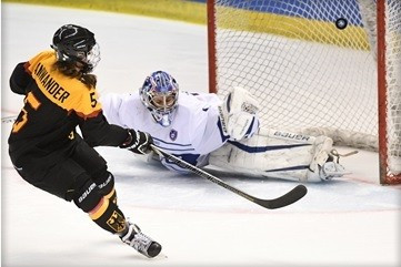 Germany and Japan record victories at women's Pyeongchang 2018 ice hockey qualifier