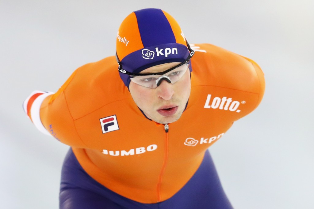 Dutch double as World Single Distances Speed Skating Championships begin in Gangneung
