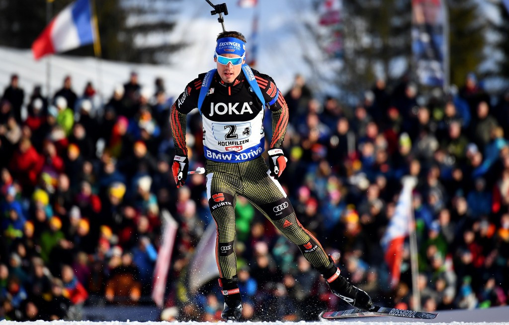 Germany win mixed relay to secure first gold of IBU World Championships