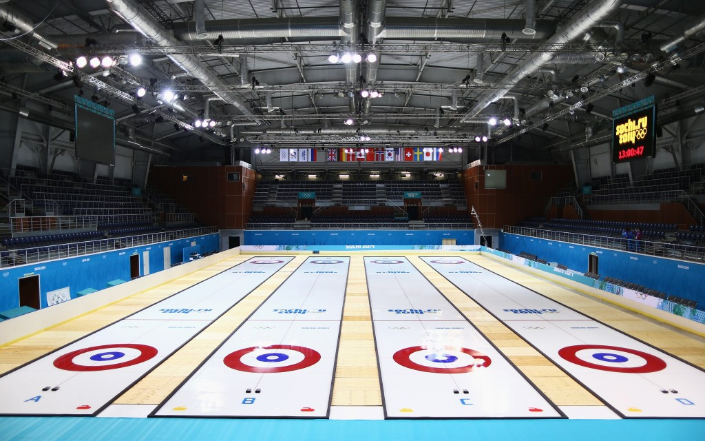 Curling will return to the Ice Cube Curling Centre this week for the World Mixed Doubles Championship ©Getty Images