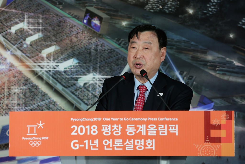 Pyeongchang 2018 President Lee Hee-beom had initially hoped to have the budget approved by October or November last year ©Getty Images