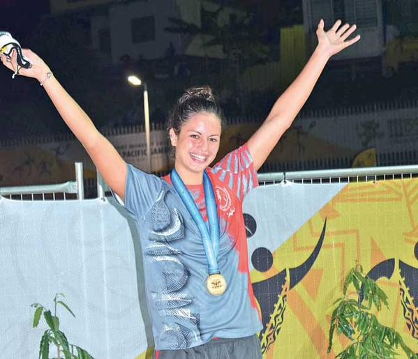 New Caledonia swimmers set the standard once more at Port Moresby 2015