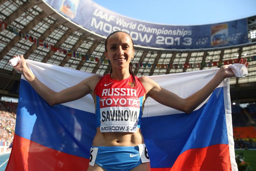 Mariya Savinova has been banned for four years ©Getty Images
