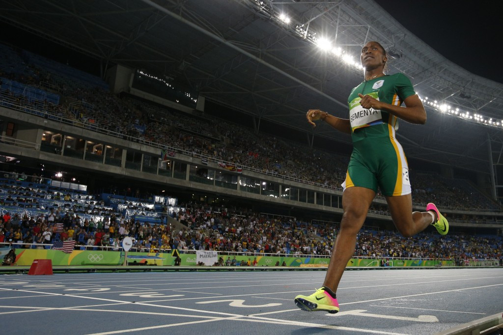 Caster Semenya is set to be upgraded to London 2012 Olympic gold in the 800m ©Getty Images