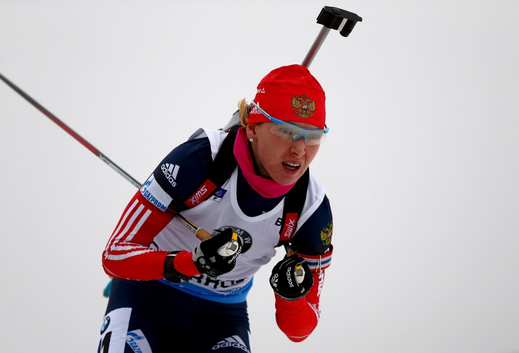 Ekaterina Glazyrina has been provisionally suspended by the IBU ©Getty Images