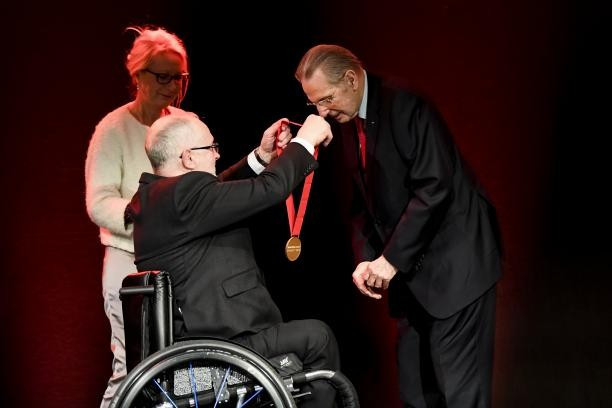 Former IOC President Rogge awarded Paralympic Order