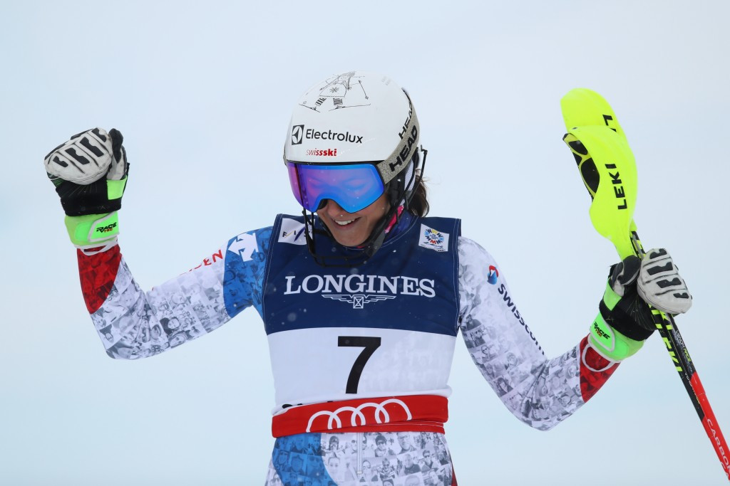 Swiss 1-2 but heartbreak for Gut at FIS Alpine World Championships