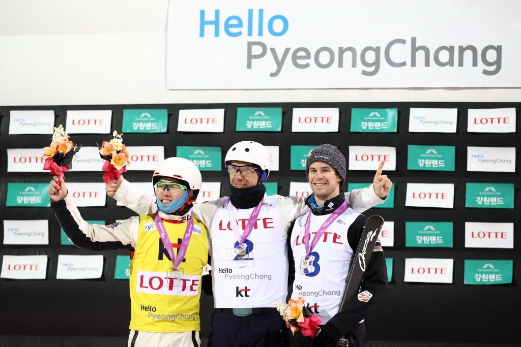 Olympic champion triumphs at Aerials World Cup at Bokwang Phoenix Park