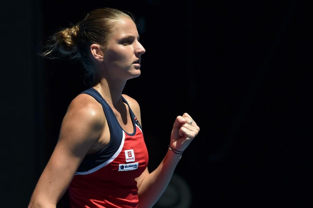 Karolina Pliskova will take her place in the Czech team ©Getty Images
