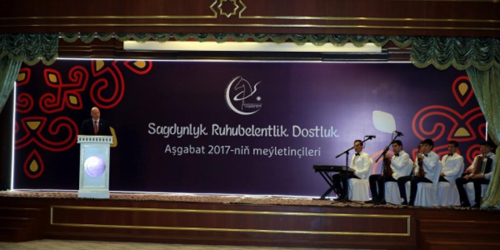 Ashgabat 2017 launch First Stars volunteer programme
