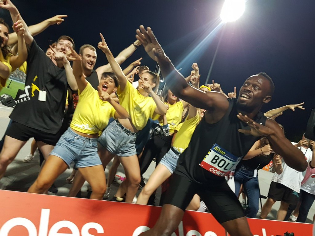 Bolt looks to develop Nitro Athetics worldwide after All-Stars sweep Melbourne series