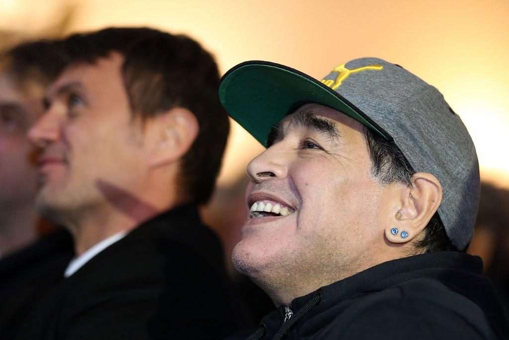 Controversial Argentinian football legend Diego Maradona has reached an agreement to take on an ambassadorial role with FIFA ©Getty Images