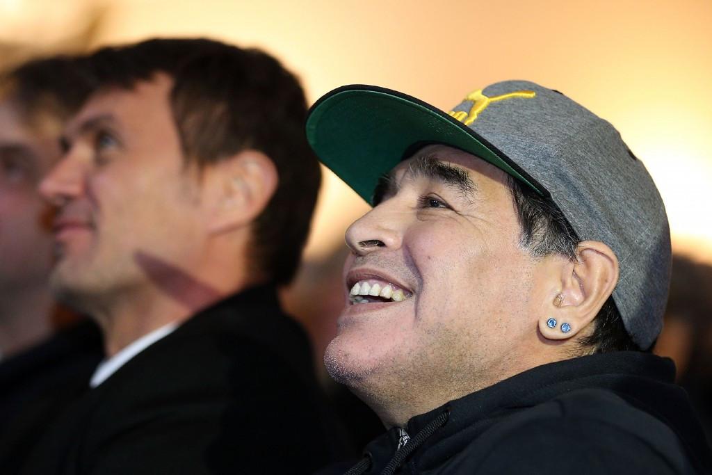 Maradona given ambassadorial role at FIFA