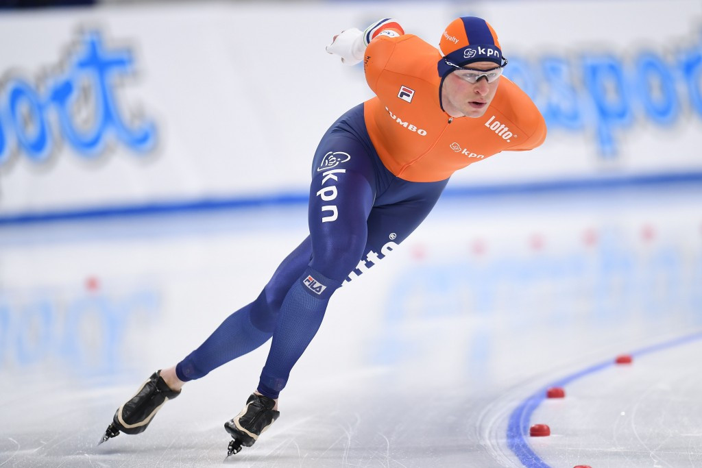 Kramer clinches second gold at World Single Distances Speed Skating Championships