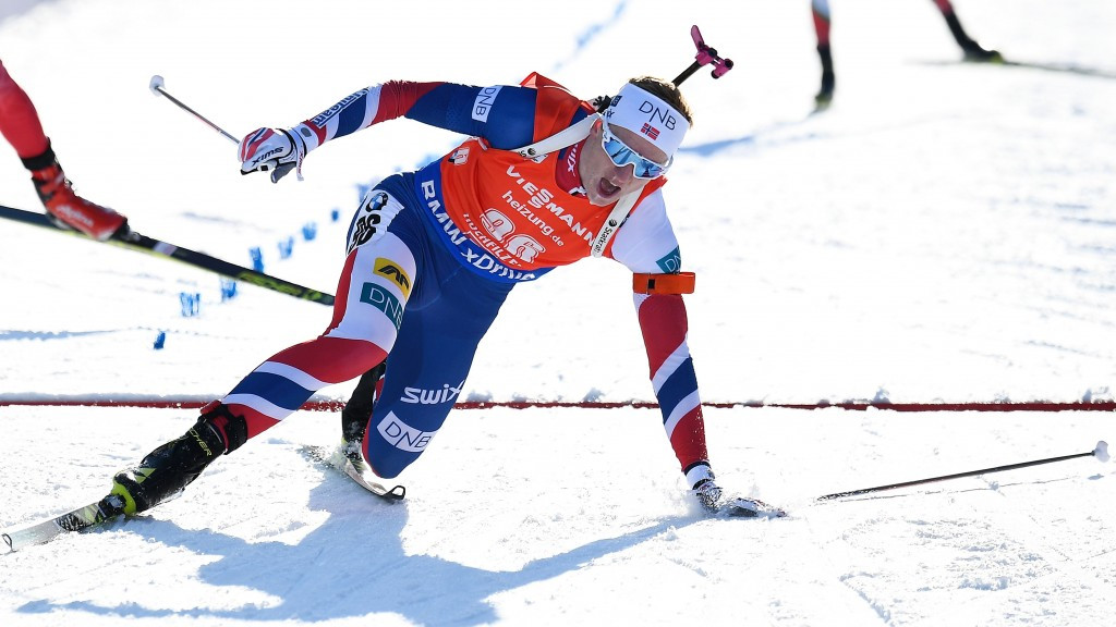 Johannes Thingnes Bø, world champion in 2015, had to settle for silver ©Getty Images