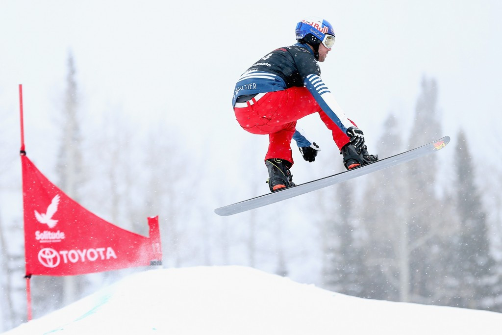 Olympic champion Vaultier collects FIS Snowboard Cross World Cup win