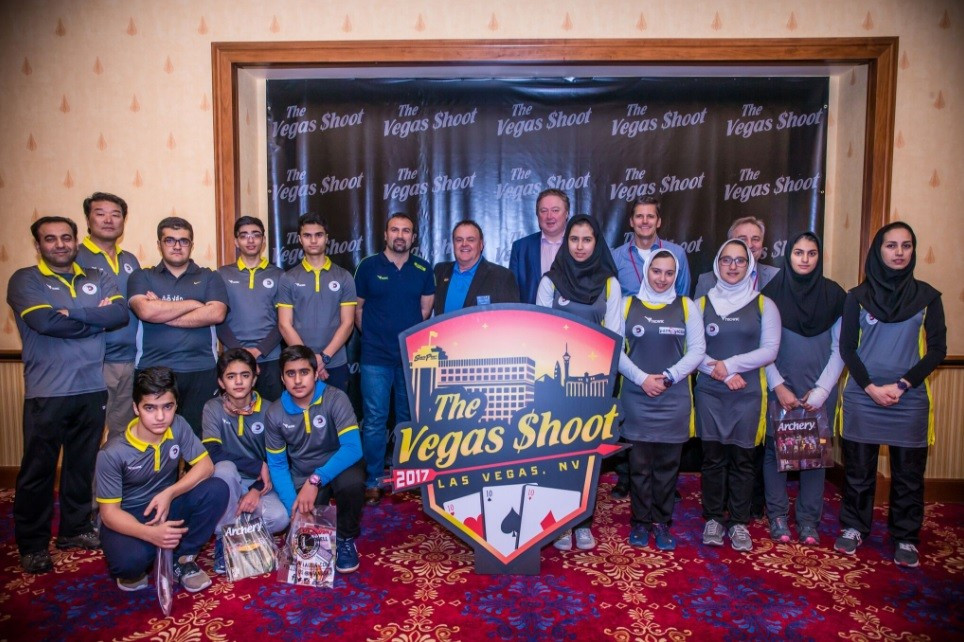 Iranian team reach Las Vegas for Indoor Archery World Cup but two members absent